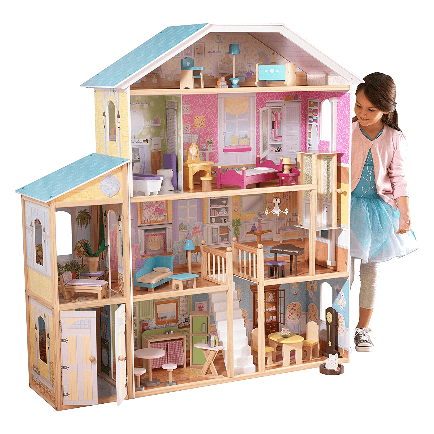 30 Fashion Accessories Barbie Size KidKraft Wooden Dollhouse Shimmer Mansion